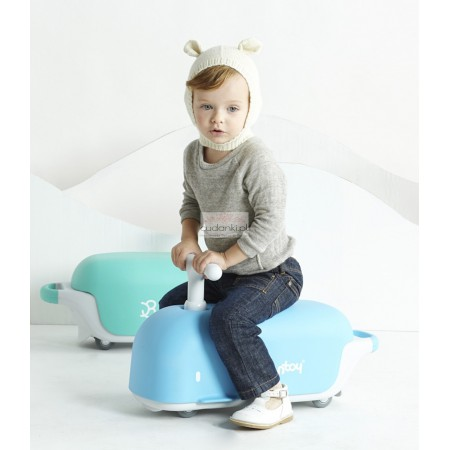 BONTOY RIDE-ON TOY BLUE MOBY