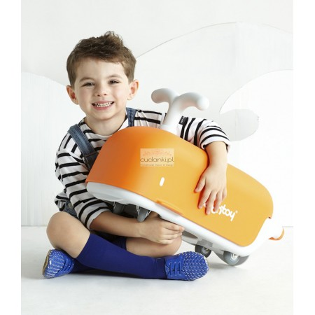 BONTOY RIDE-ON TOY ORANGE NOAH