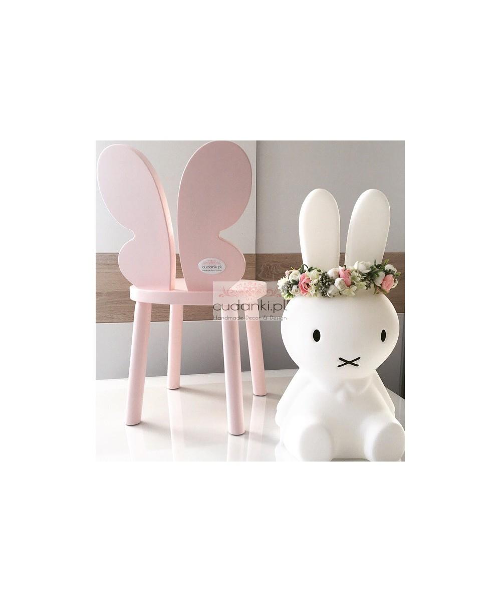 Krzesełko Butterfly Krzesło Motyl kolory drewniane dla dzieci