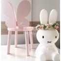 Krzesełko Butterfly Motyl drewniane dla dzieci