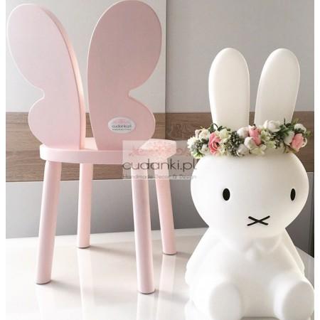 Krzesełko Butterfly Krzesło Motyl drewniane dla dzieci krzesełko drewniane dla dziecka motylek
