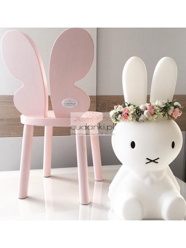 Krzesełka Butterfly Motyl drewniane dla dzieci