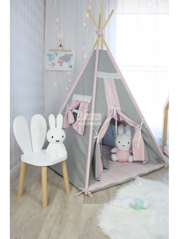 Wspaniały VINTAGE with Pink TEEPEE SET TENT PREMIUM line collection with UF26