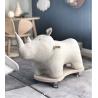 Jeździk nosorożec - Kolor naturalny - W stylu skandynawskim