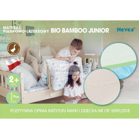 Materac z lateksem BIO Bamboo Junior