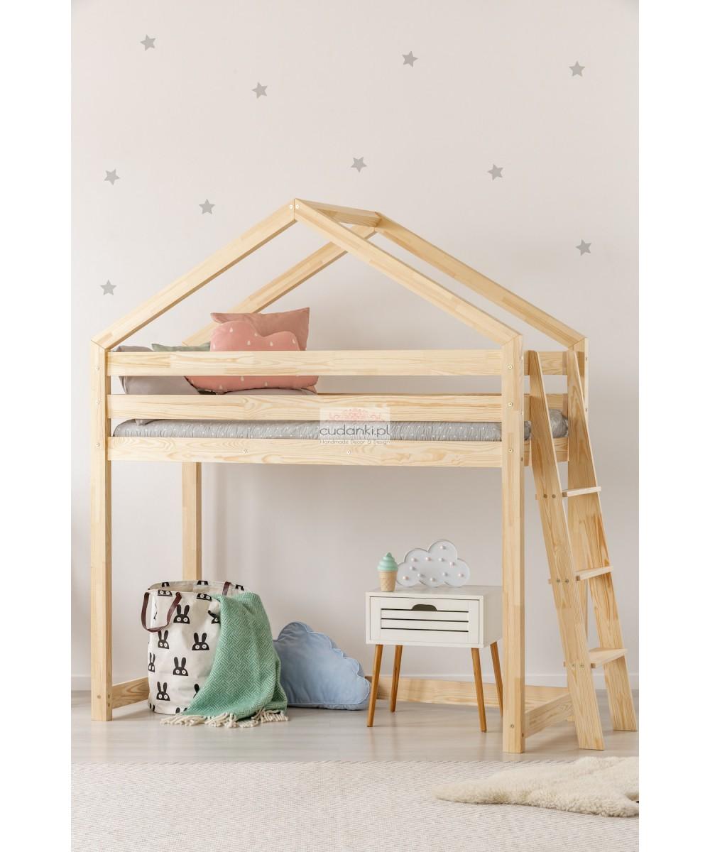 Na Antresoli Piętrowe Skandynawskie łóżko Domek Bed House