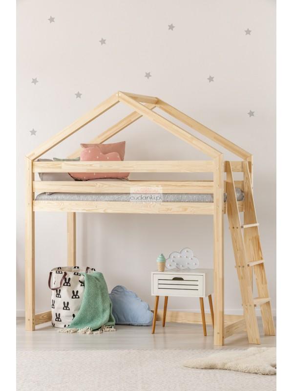 Na Antresoli Skandynawskie łóżko Domek Bedhouse 2