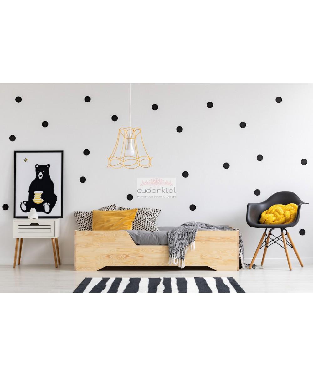 Łóżko drewniane dla dzieci w stylu skandynawskim ZOE