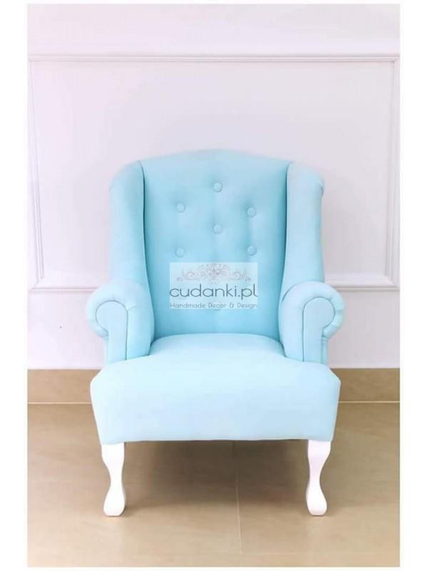 Fotel dla dzieci pluszowy CAMILA