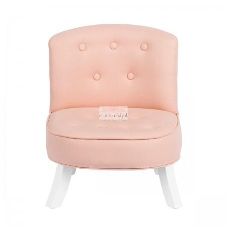 Len pudrowy róż fotelik Linien Powder Pink SomeBunny
