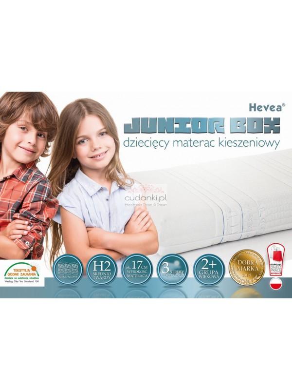 Materac kieszeniowy Hevea Junior Box