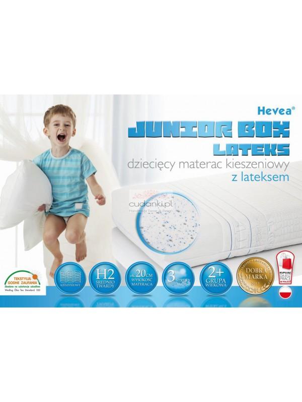 Materac kieszeniowy Hevea Junior Box Lateks