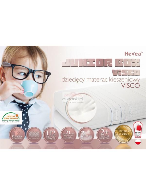 Materac kieszeniowy Hevea Junior Box Visco