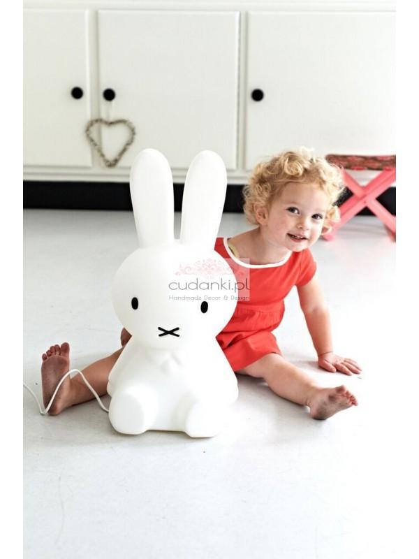 Mr Maria Lapma Miffy S królik króliczek MrMaria LED
