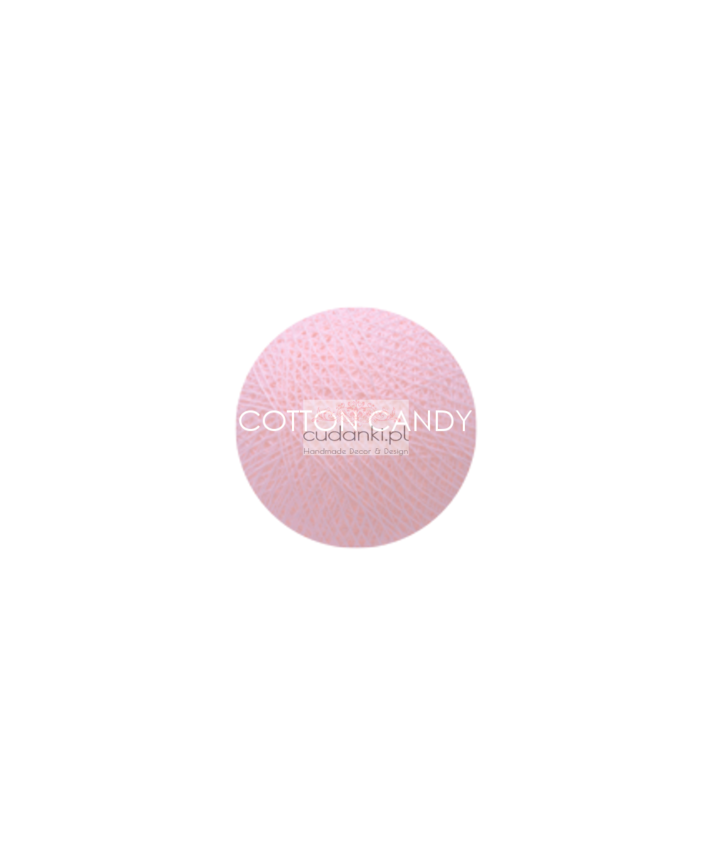 Kulka Cotton Balls COTTON CANDY do własnej aranżacji