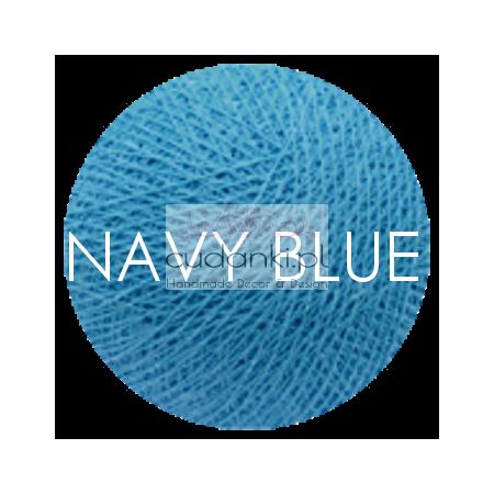 Kulka Cotton Balls NAVY BLUE do własnej aranżacji