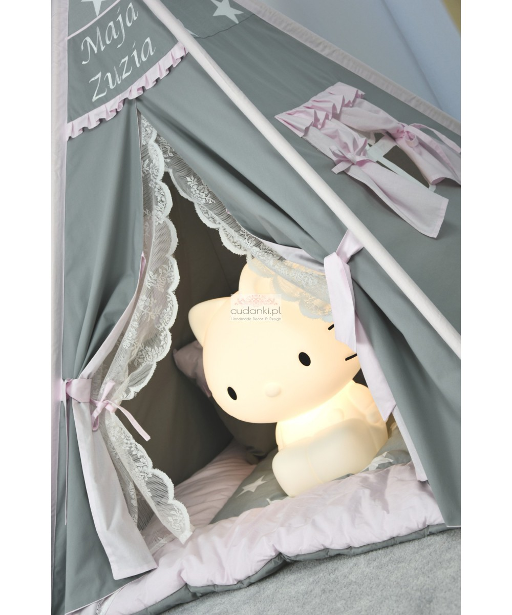FABULOUS MOMENTS TEEPEE SET - PREMIUM line playmat, crown, pillow