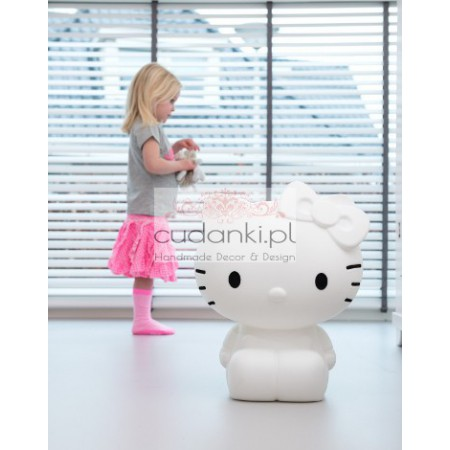HELLO KITTY LAMPA LAMPKA LED stołowa duża