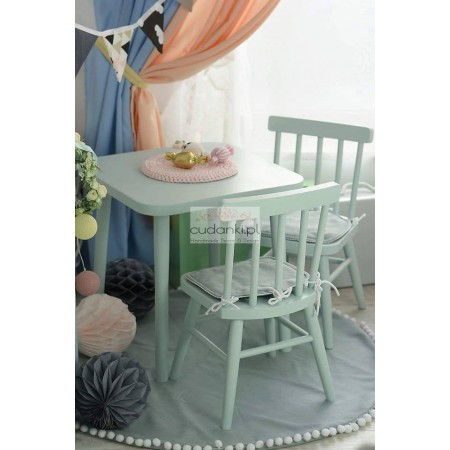 WOODEN TABLE FOR KIDS VINTAGE