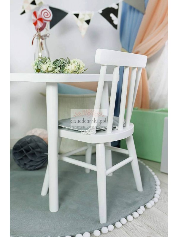 Drewniany Stolik Stoliczek Dla Dzieci Vintage Dwie Wielkości