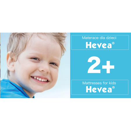 Materace piankowo lateksowe dla dzieci powyżej 2+
