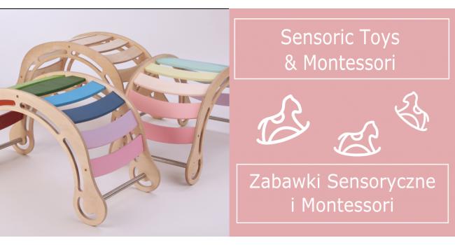 Zabawki Montessori i Sensoryczne