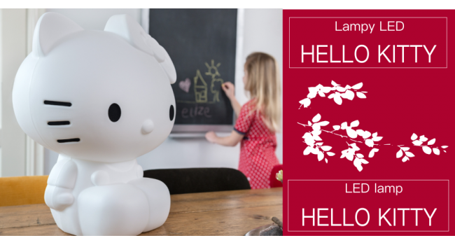 HELLO KITTY LAMPY LED