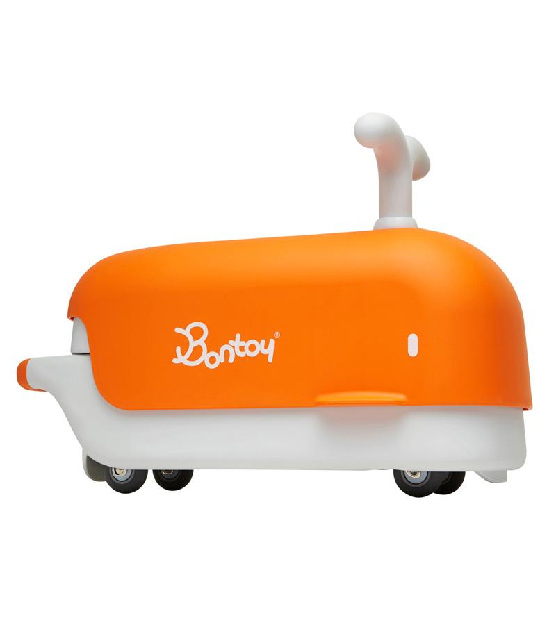 Bontoy jeździk rowerek biegowy pomarańczowy