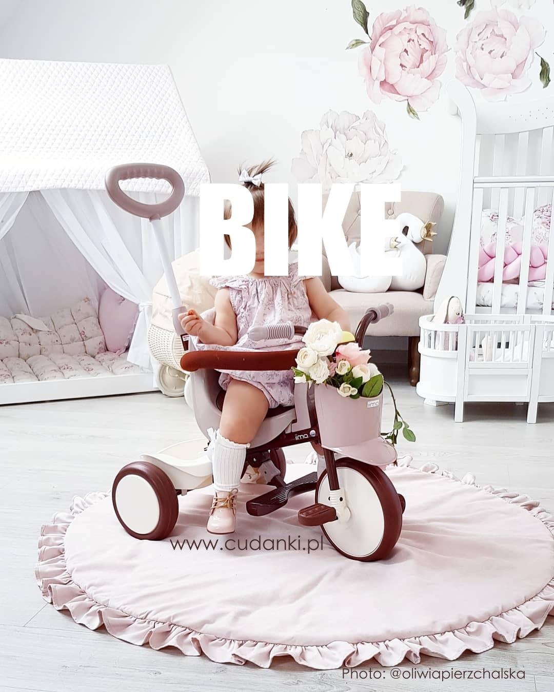 IIMO BIKE POLAND trójkołowy rower EKSKLUZYWNY rowerek Comfort Brown
