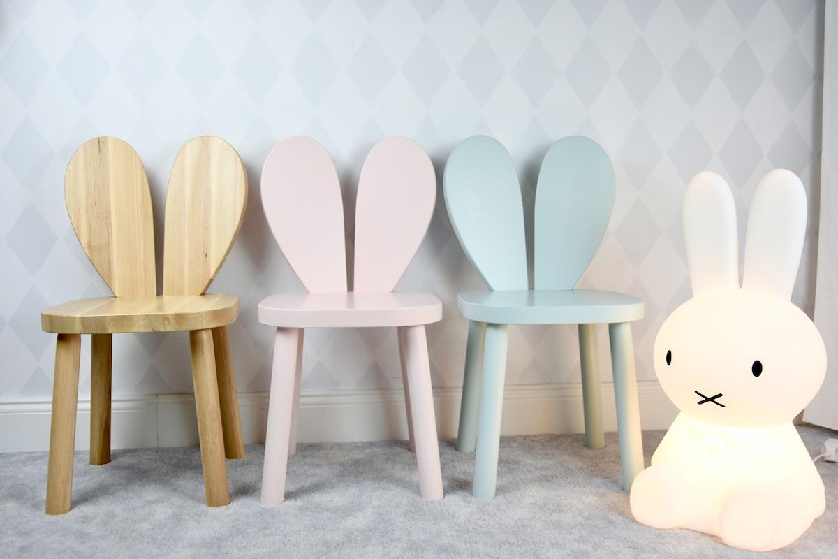 krzesło krzesełko królik rabiit chair heart serce