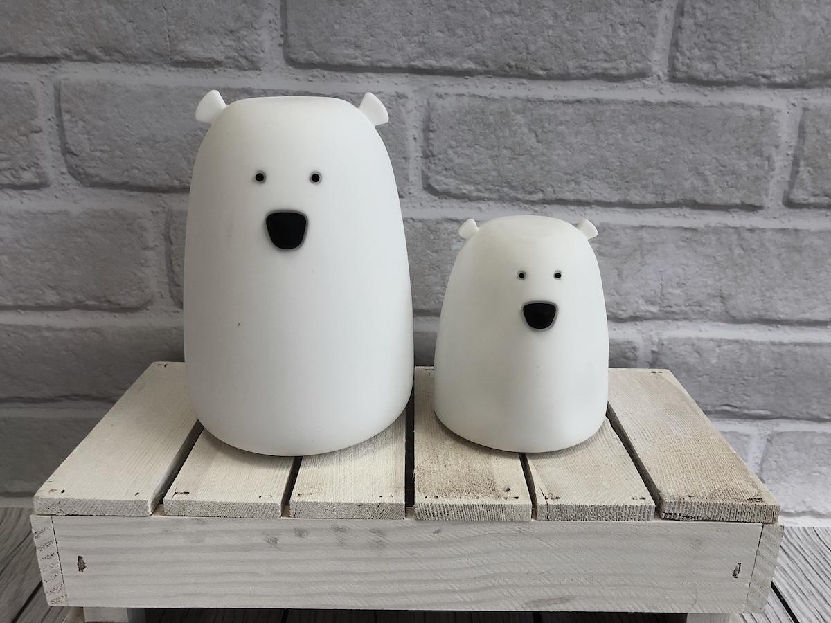 miś biały Rabbit and Friends led dla dzieci