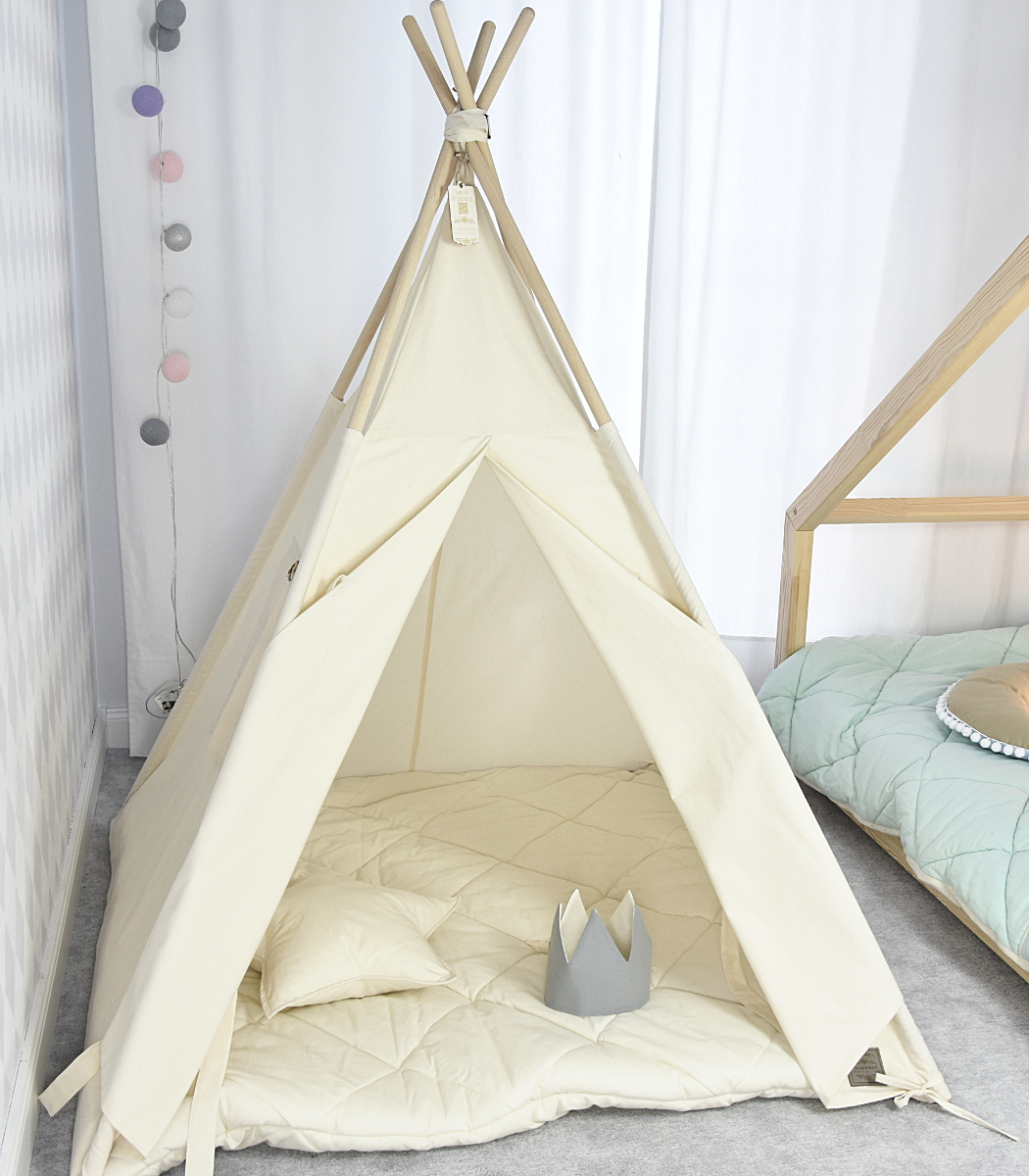 teepee tent natural V line Premium