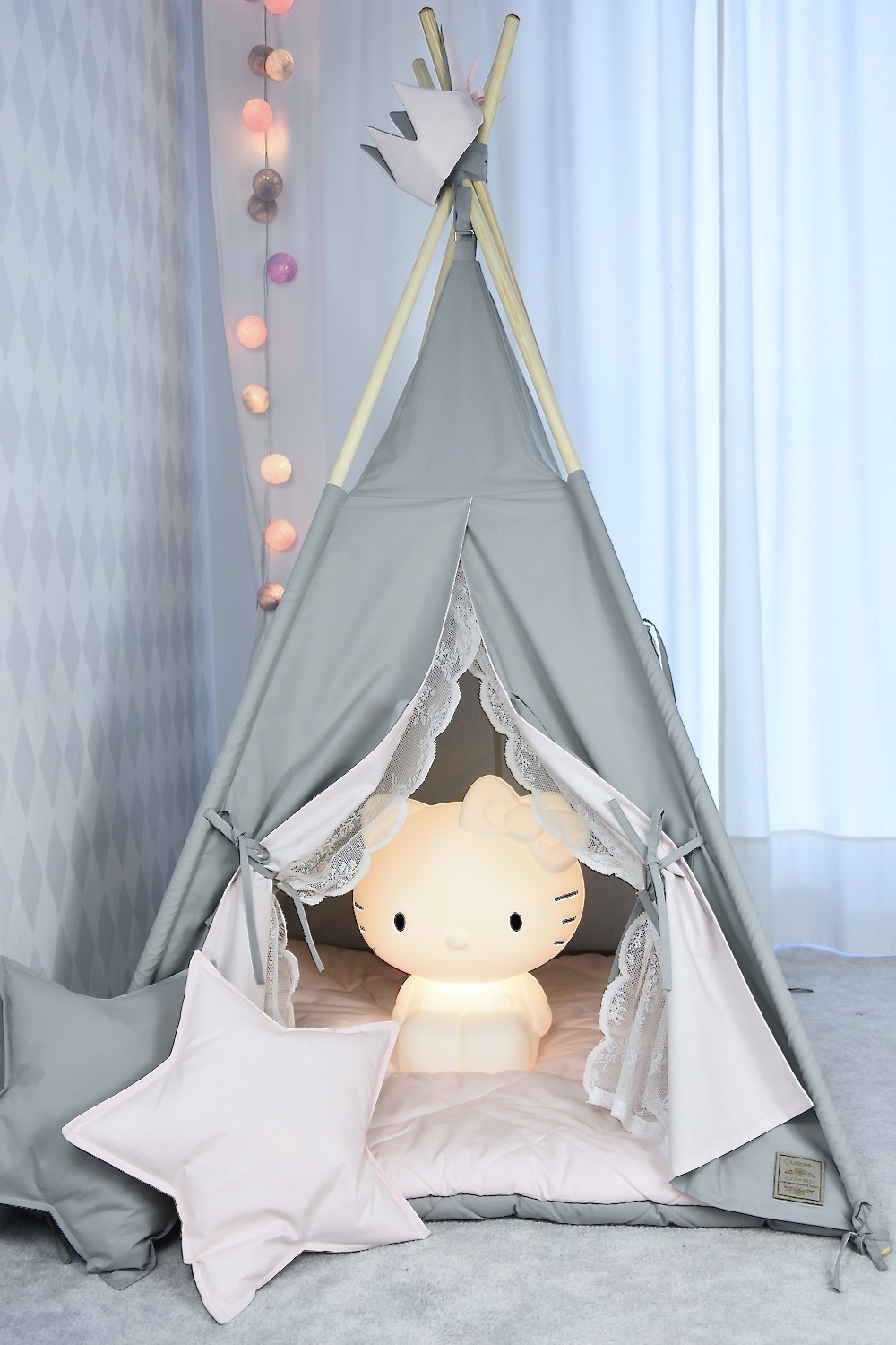 V-Line teepee tent premium quality hight for kids