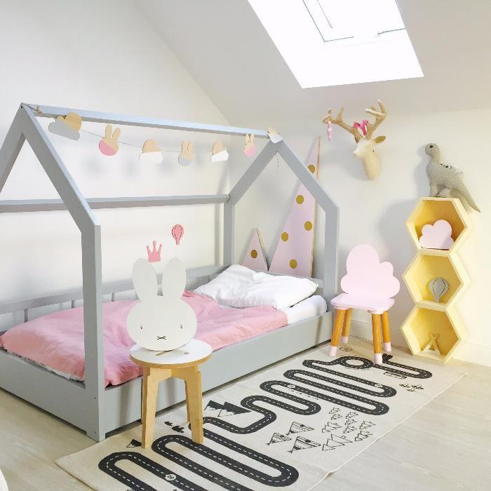 Pi Trowe Skandynawskie Ko Bed House
